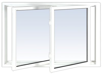 double tilt slider window
